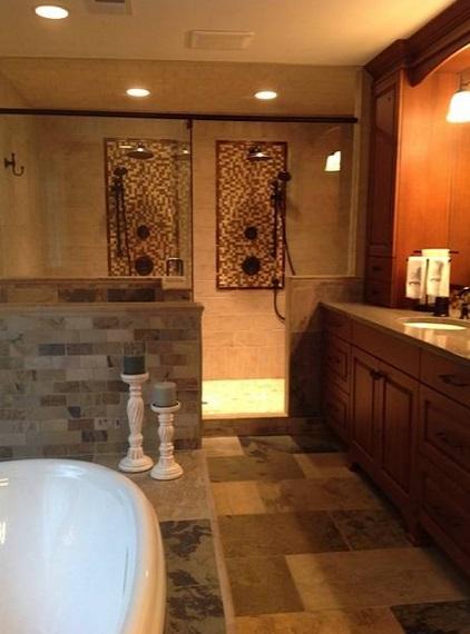 . Master Bath Spa Project in Alpharetta