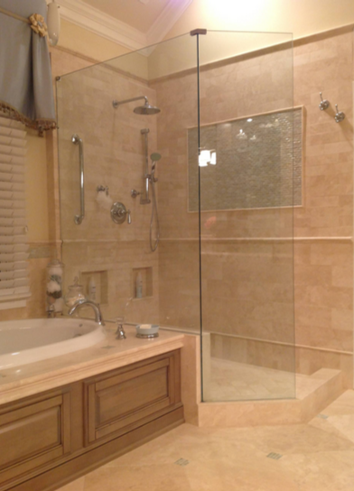 Winter Houzz Custom Bathroom Remodel Survey Alpharetta