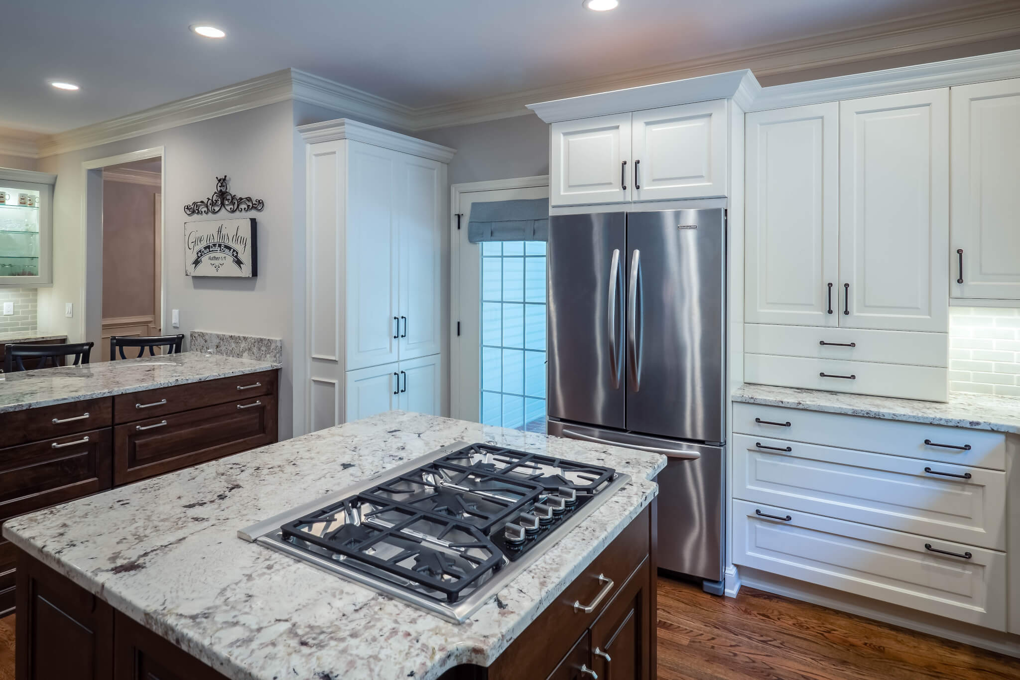 Traditional Kitchen with Double Island - Cheryl Pett Design