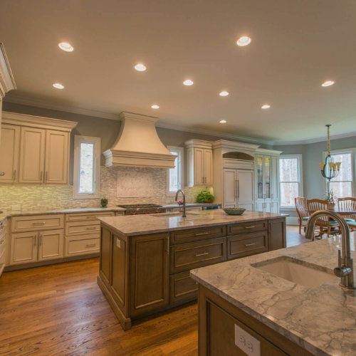 Transitional Kitchen With 2 Islands Cheryl Pett Design